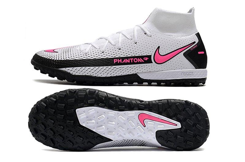Herren Schuhe Nike Phantom GT Academy DF TF White Pink Black