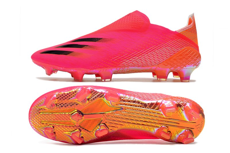 Herren Schuhe adidas X Ghosted+ FG Superspectral Pack Shock Pink