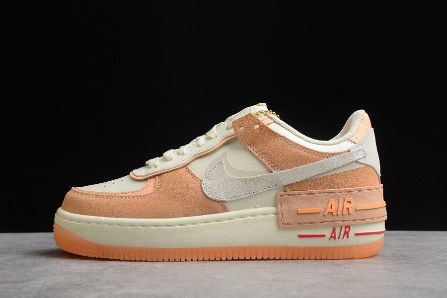 Nike Air Force 1 Shadow Sisterhood Cashmere Orange On Sale
