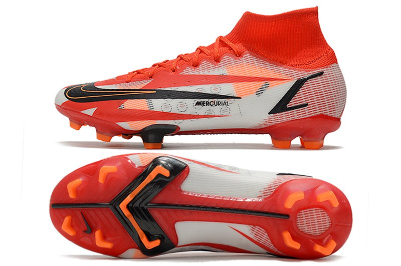 Nike CR7 Mercurial Superfly 8 Elite FG Spark Positivity Chile Red