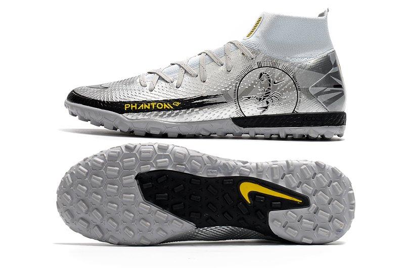 Nike Jr. Phantom Scorpion Academy Dynamic Fit TF Grey Silver