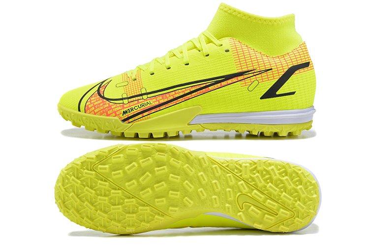 Nike Mercurial Superfly 8 Academy TF Volt Bright Crimson Football Shoes