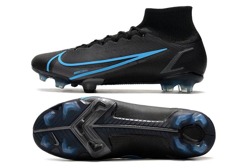 Nike Mercurial Superfly 8 Elite FG Black Blue billigt online
