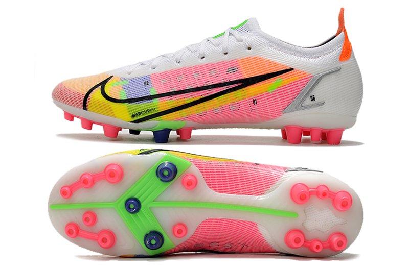 Nike Mercurial Vapor 14 Elite AG White Dark Raisin Soccer Cleat