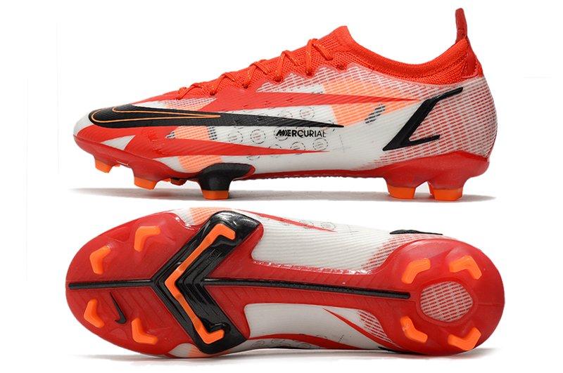 Nike Mercurial Vapor 14 Elite CR7 FG Chile Red White-Total Orange-Black