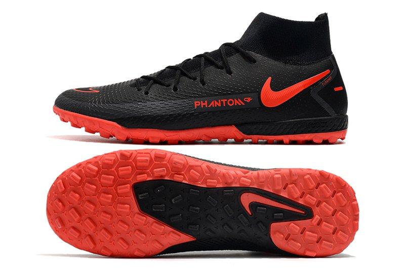 Nike Phantom GT Academy DF TF Black Chile Red Turf Trainer