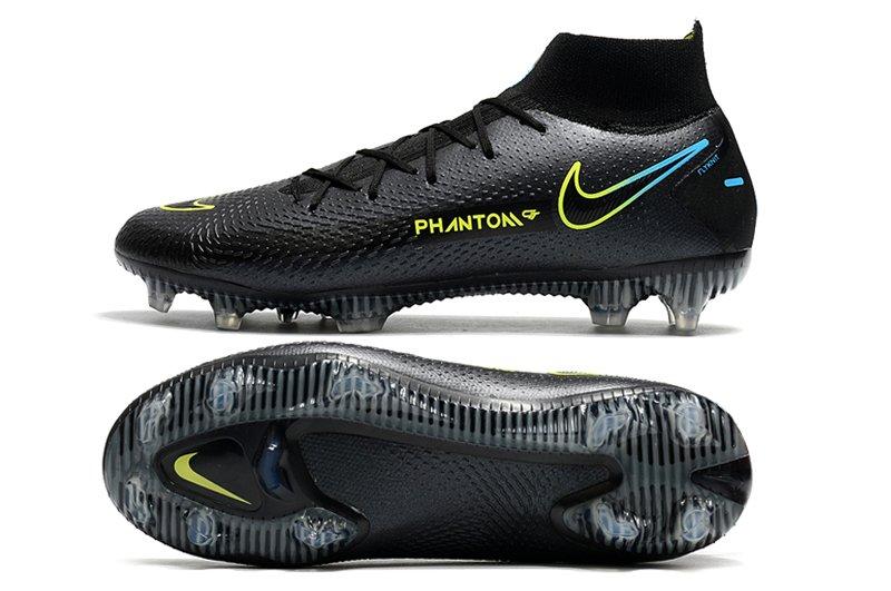 Nike Phantom GT Elite Dynamic Fit FG Black Cyber-Photo Blue Soccer Cleats