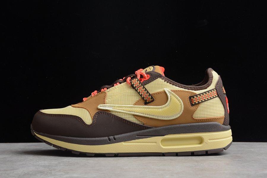 Travis Scott x Nike Air Max 1 Baroque Brown For Sale