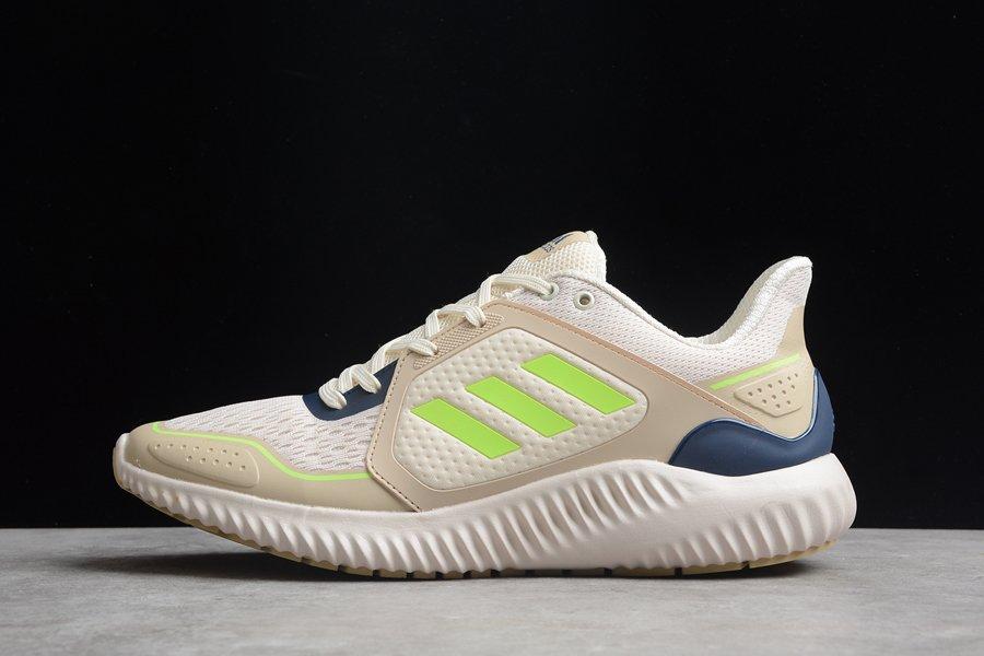 adidas ClimaWarm Bounce Beige Navy Volt