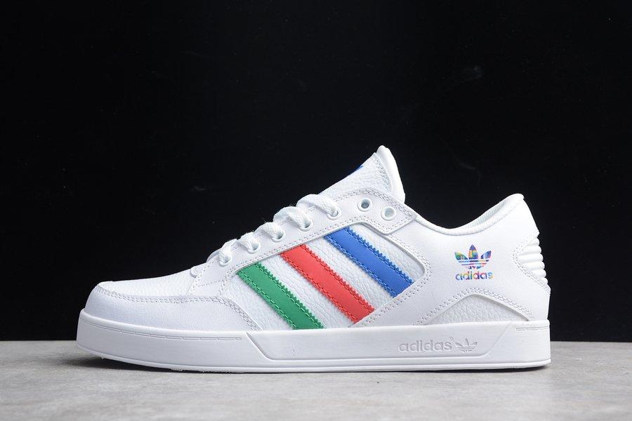 adidas Originals Hardcourt Low White Red Green Blue