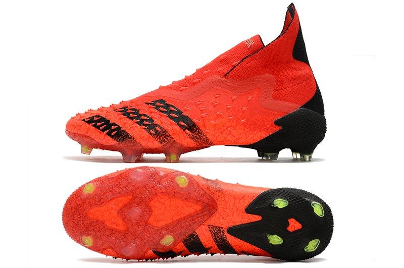 adidas Predator Freak+ FG Meteorite Red Football Boots