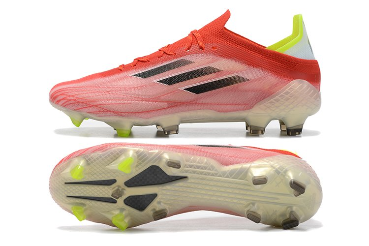 adidas X Speedflow.1 FG Red Cord Black-Solar Red Soccer Cleats