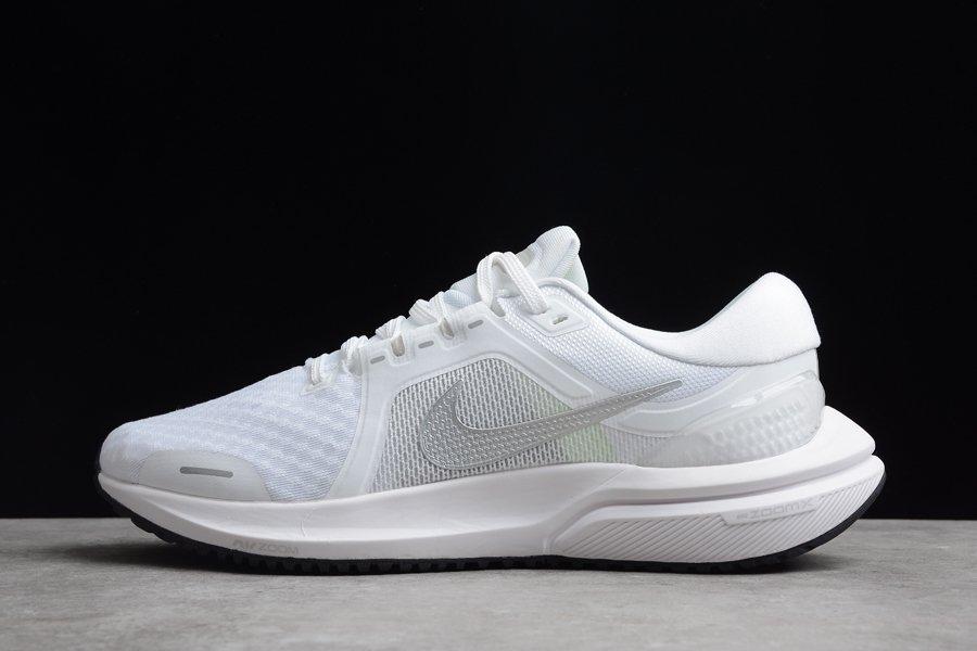 Nike Air Zoom Vomero 16 White Metallic Silver Running Shoes