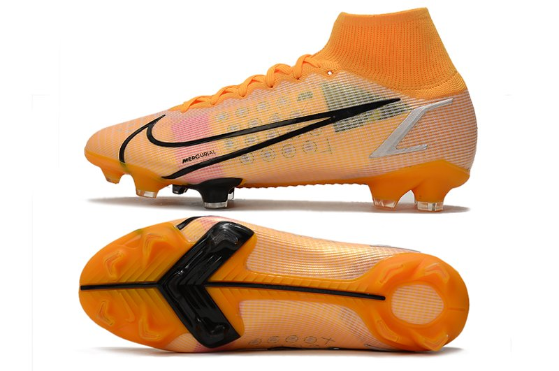 Nike Mercurial Superfly 8 Elite FG Orange Soccer Cleats