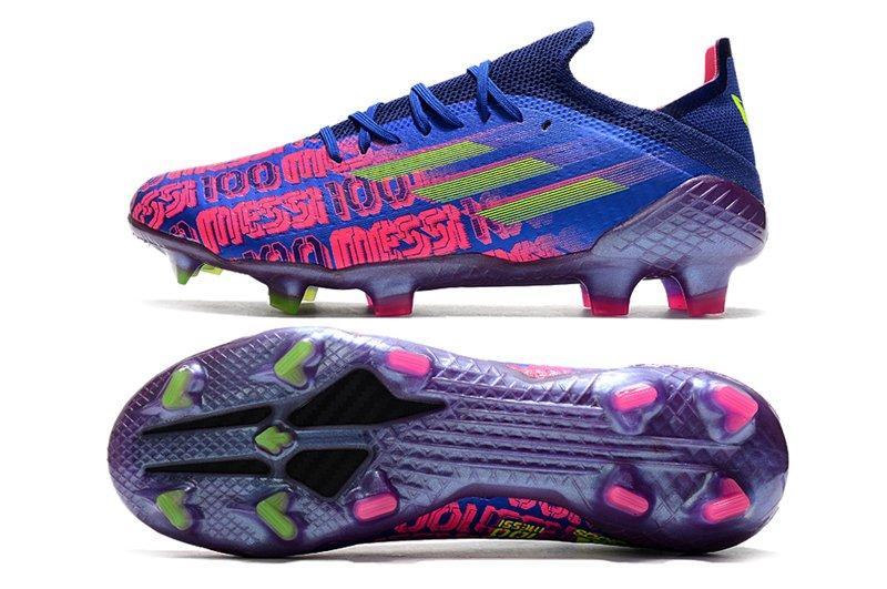 adidas X Speedflow Messi .1 FG Unparalleled Victory Blue Shock Pink-Solar Yellow
