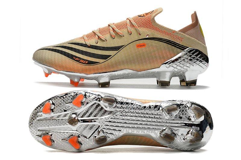adidas X Speedflow Messi.1 FG Tech Metallic Black-Intense Orange